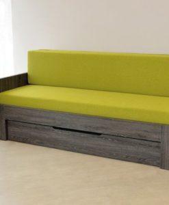 Ahorn Rozkládací postel Duovita s laťkovým roštem bez zásuvky a matrací