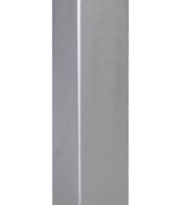 Ocelová kotvící patka pro svislé WPC sloupky • 105x105x500 mm • 3400 g • nerez ocel