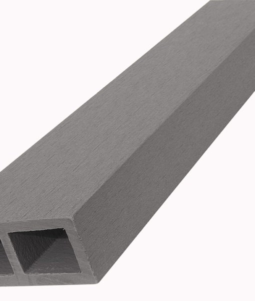 WPC vodorovný plotový nosník Nextwood – šedá